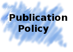 Pubblication Policy